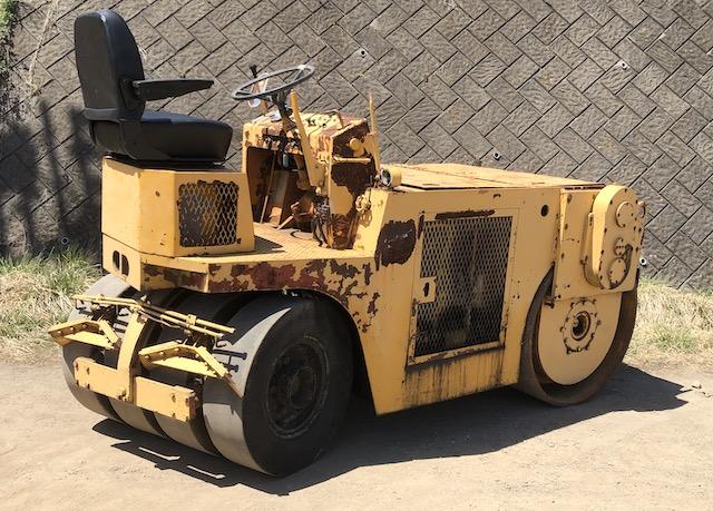 WATANABE コンバインド ローラー WV4000 建設機械
