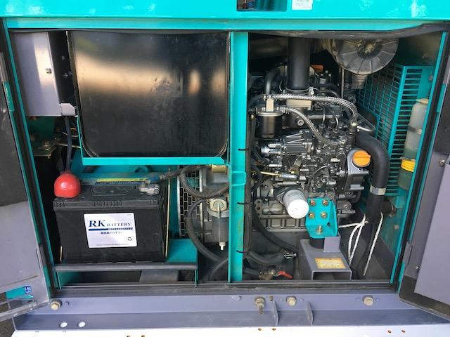 デンヨー 発電機 DCA-13ESY 建設機械