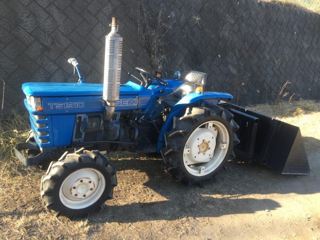 イセキ トラクター TS1910 農機具