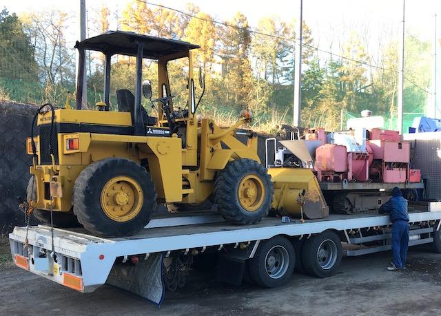 建設機械 三菱 タイヤローダー WS500
